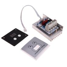 10KW AC220V Voltaje SCR Super Power Electronic Digital Controlador de Temperatura Termostato Regulador Regulador de la Velocidad de la Luz