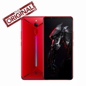 Original ZTE nubia Red Magic Mars mobile phone 6.0 6GB RAM 64GB ROM Snapdragon 845 Octa core Front 16.0MP Rear 8MP Game Phone