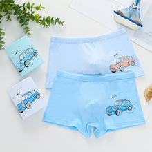 4Pcs/lot  Underpants Briefs for Boys 4-12Y Underwears Panties Infant Boxer Cartoon Cute Male Under Wear
