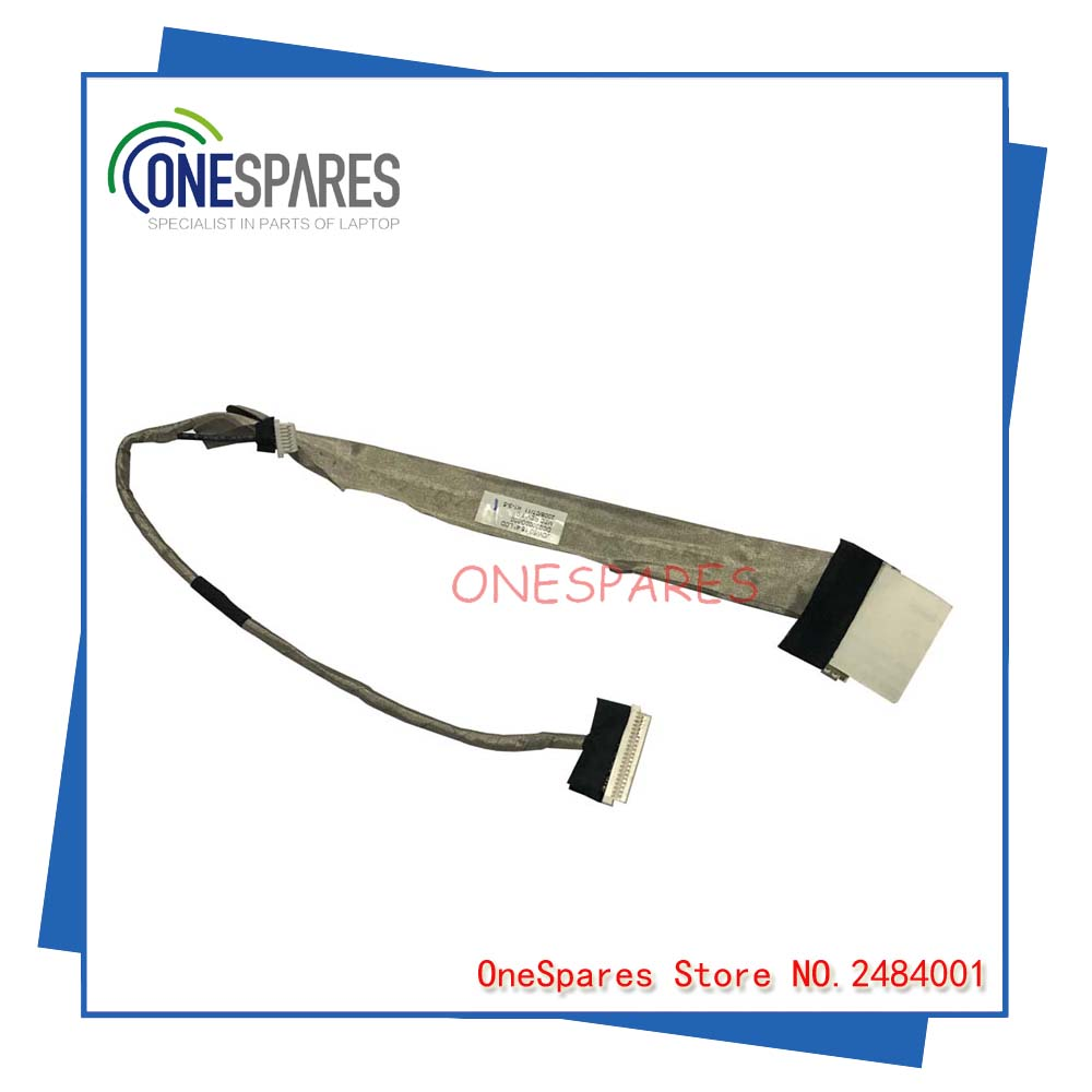 LCD Video Flex Screen Data Cable Wire Line For Acer As 5310 5315 5720 5520 5620 5520G 15.4JDW50 DC02000G800 Laptop Series