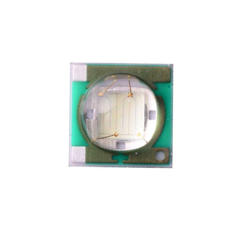 10X Moldagem pacote 1W3W 3535SMD UV 375-380nm LED fonte de luz frete grátis