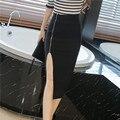 Hot sale 2016 New arrival moda outono e inverno das mulheres tops saco saia sexy magro ocasional do escritório saia do sexo feminino 563G 30