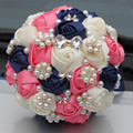 New Arrival 2017 Romantic High quality customized Bridal Bouquets Wedding Accessories Wedding Bouquets Colorful Bridal Bouquets