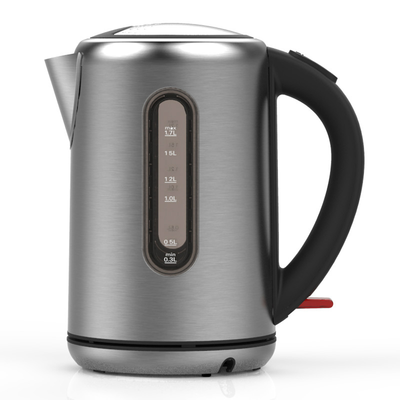 Electric kettle 304 stainless steel food grade electric capacity home automatic power off free shipping automatic electric food grade 304 stainless steel electric kettle hot insulation automatic prevent parch