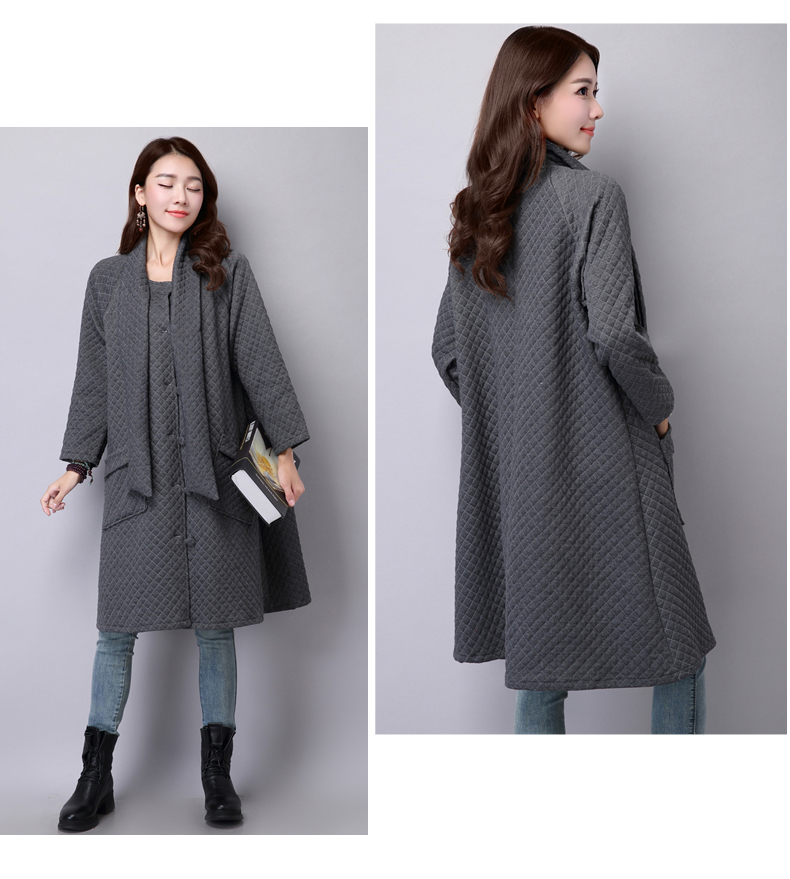 Aliexpress.com : Buy Long Trench Coats O neck Long Sleeve Arabic ...