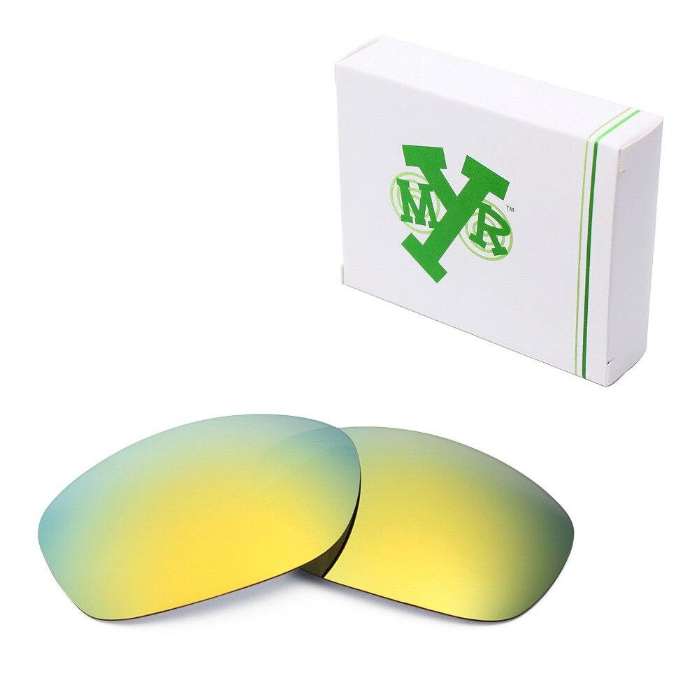 Mryok ПОЛЯРИЗОВАННЫЕ замены Оптические стёкла для Oakley питбуль Солнцезащитные очки для женщин 24 К золото