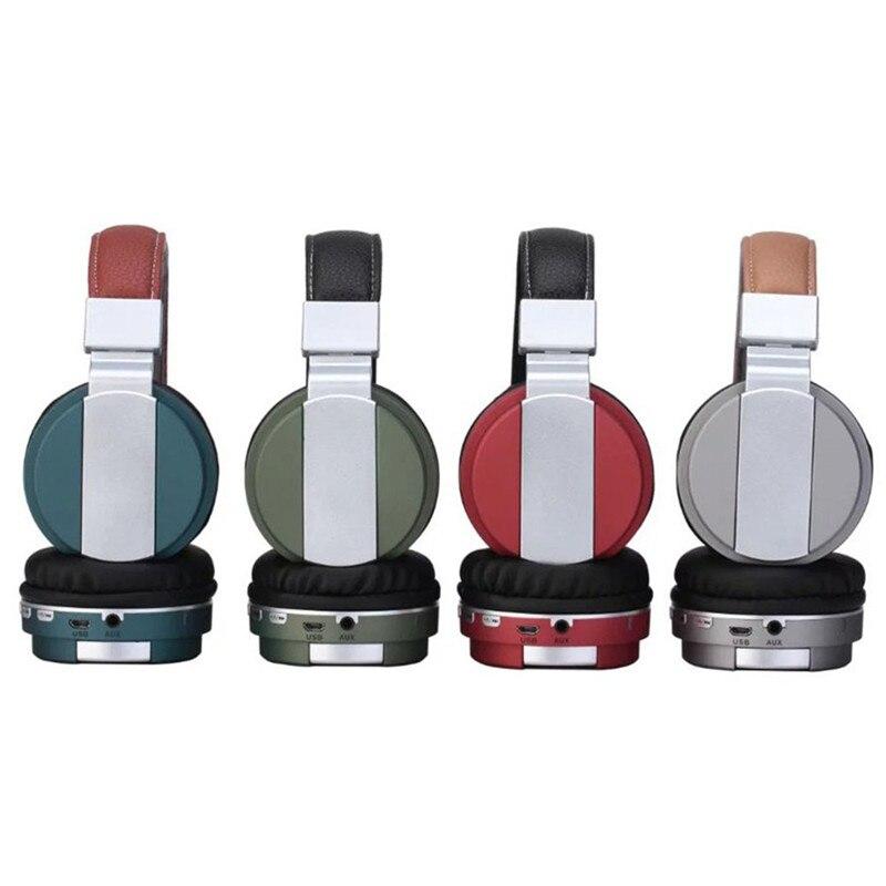 Over-ear Headphone Wireless Bluetooth Headset 3.5 MM Audio Jack Gaming Headset  Gamer Earphone with Microphone for Smart Phone simon simon 82 синий металлик графит рамка 1 ая 82814 64