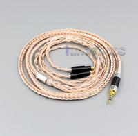 2.5mm 4pole TRRS Balanced 16 Core OCC Silver Mixed Headphone Cable For Shure SRH1540 SRH1840 SRH1440 LN005835
