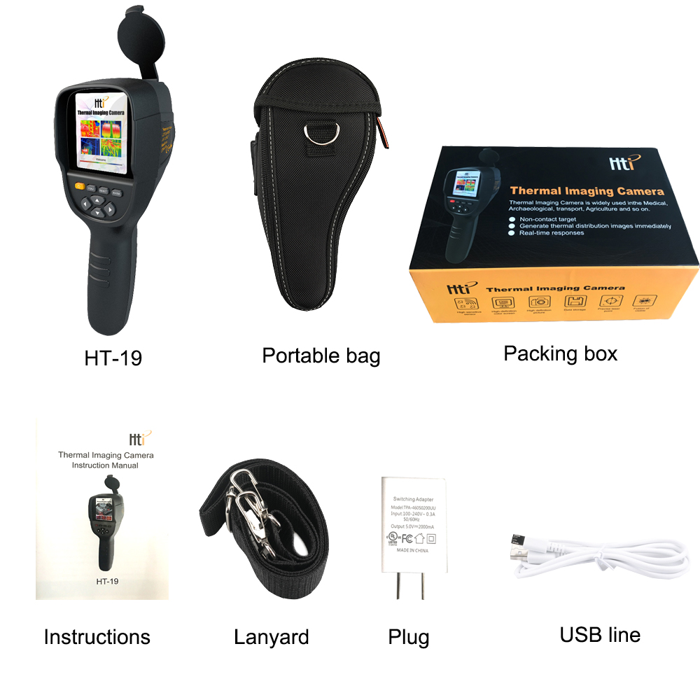New HT-19 Thermal Imaging Camera With Screen Display For Overhaul and Outdoor 4