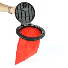 6 Inch Marine Cover Pull Out Deck Plate with Storage Bag Cover Kit for Boat Kayak Canoe Kayak Accessories