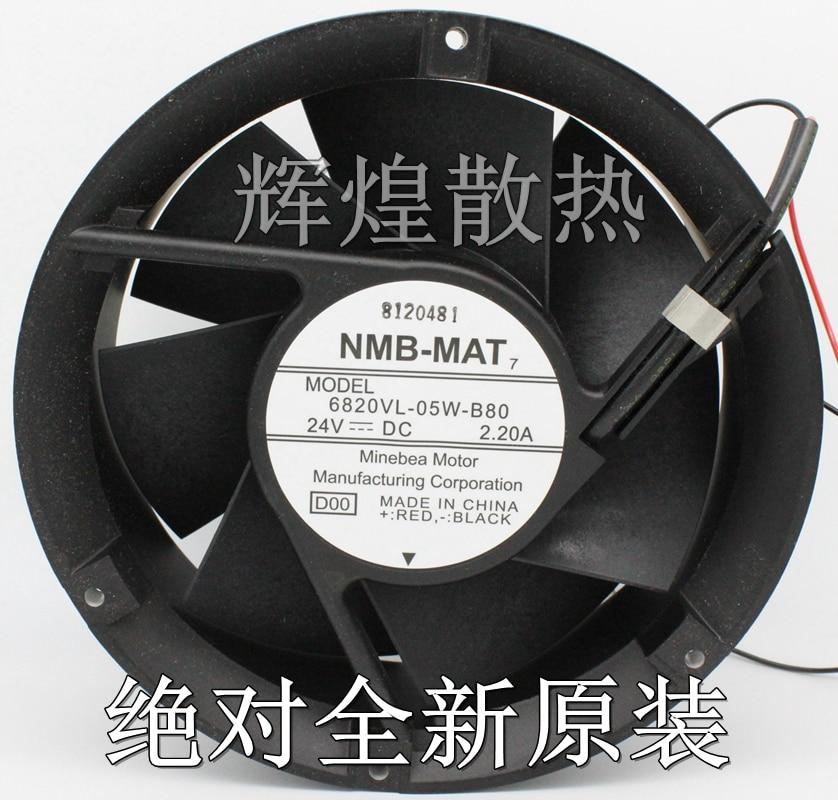 New Original for NMB 6820VL-25W-B80 24V 2.2A 17cm violent cooling fan вентилятор напольный aeg vl 5569 s lb 80 вт