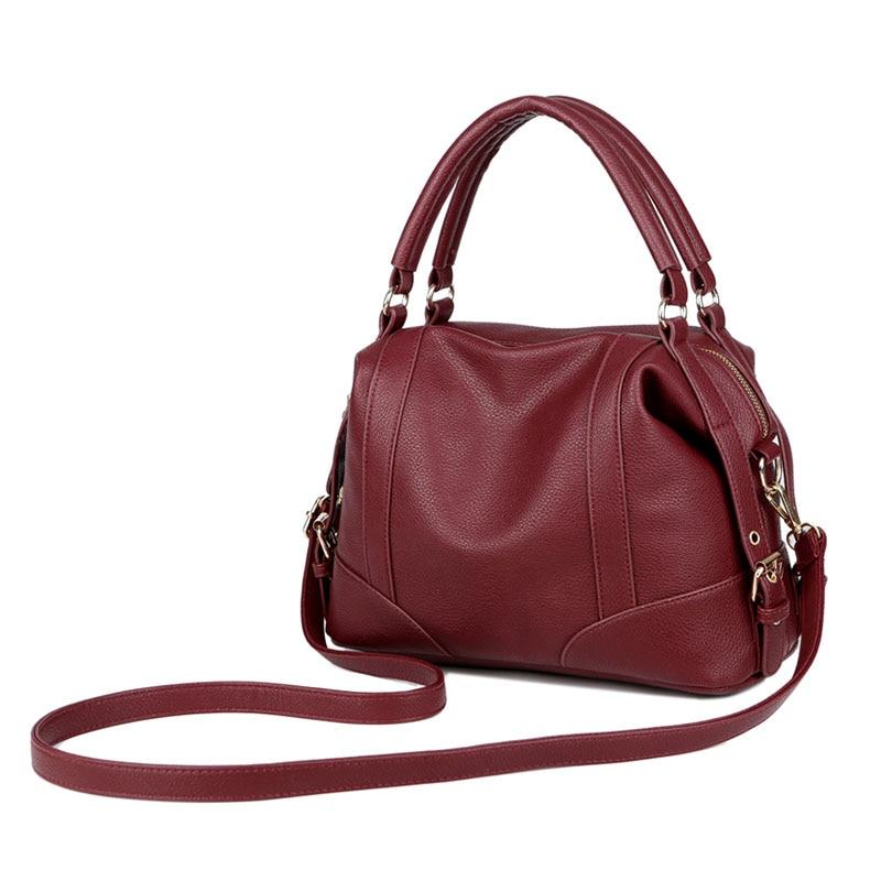 Luxury Large Capacity Genuine Leather Women Handbag Shopping Bag Shoulder Bags LXX9