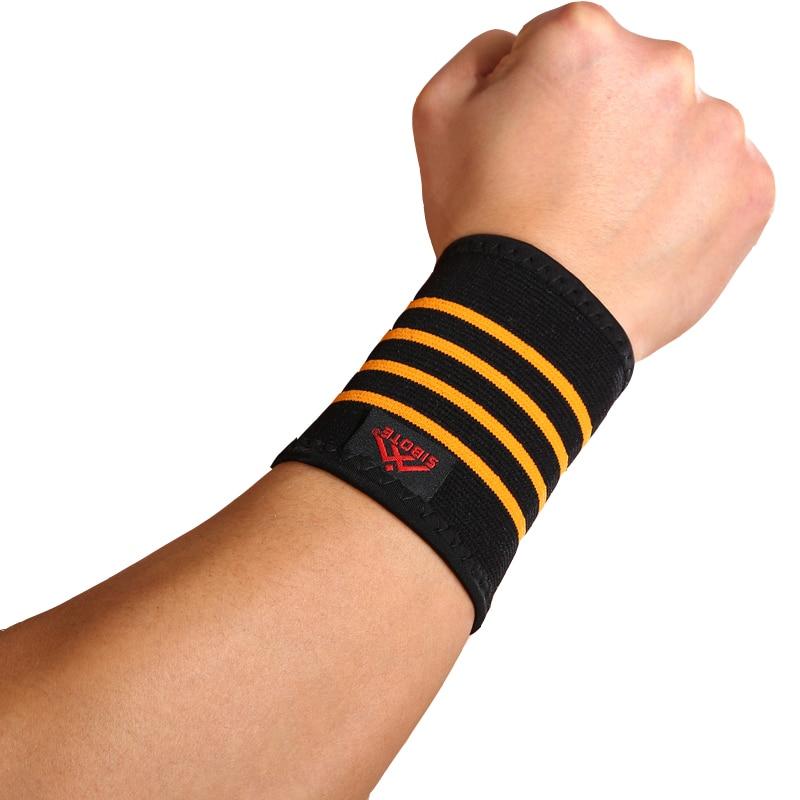 Prix pour 1 pcs nouveau élastique respirant sport poignet appui basket-ball badminton tennis de poignet protection livraison gratuite # SBT70