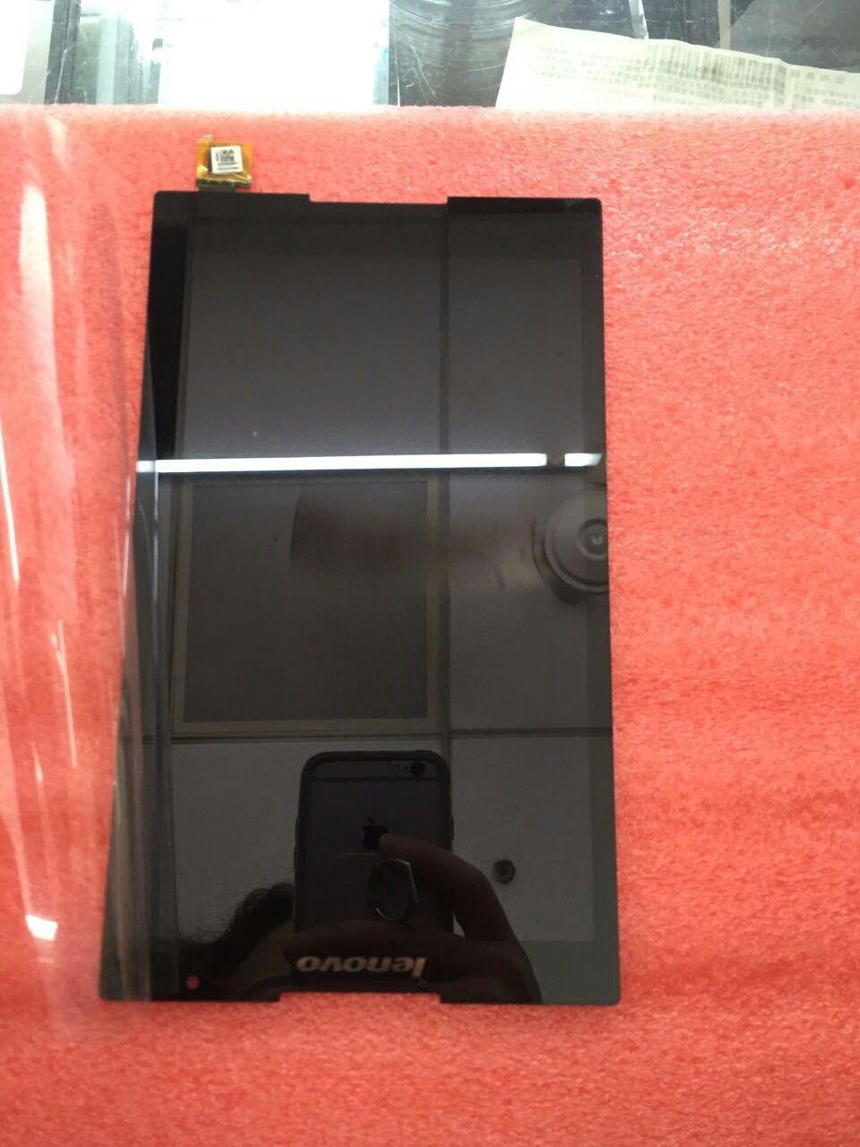 Prix pour Envoyé un texto Noir écran tactile digitizer lcd assemblée d'affichage POUR Lenovo Tab S8-50 S8-50F S8-50L S8-50LC outils Gratuits livraison gratuite