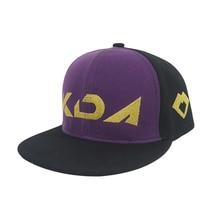 Brdwn KDA The Rogue Assassin Akali Fashion Flat cap Peaked Cap Baseball Cap Sunhat цена и фото