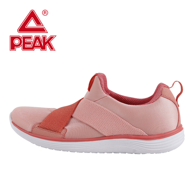 PEAK Sport Shoes Women Running Shoes Sneakers Breathable Running Shoes Comfortatable Outdoor Walking Light Weight Jogging