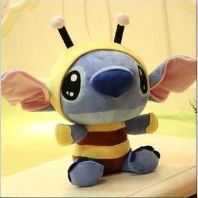 1pcs 8 20cm New Style Lilo and Stitch Plush Toy Bee Stitch Doll Good Plush Baby Kids Toys gifts