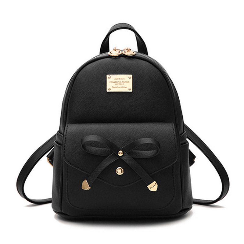Cute Mini Leather Backpack Fashion Small Daypacks Purse for Girls and Women 1