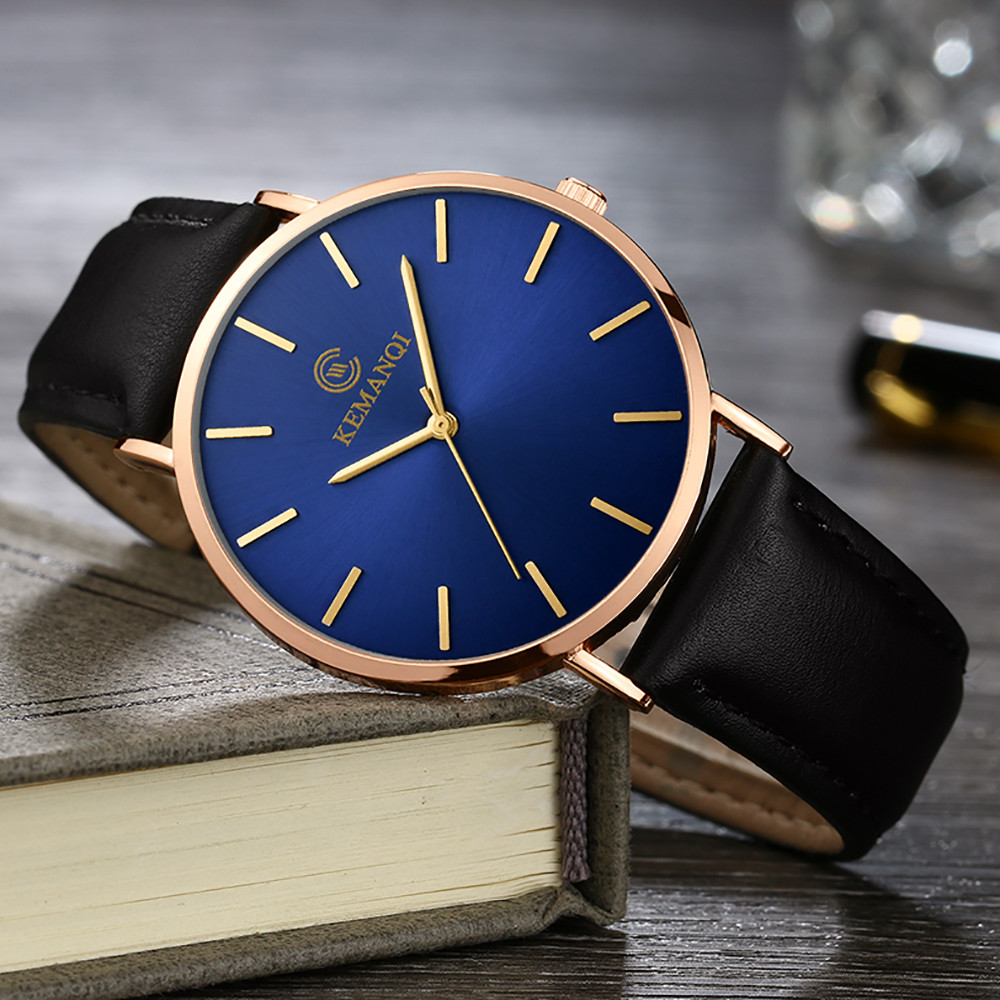 HTB1VvmBaLfsK1RjSszbq6AqBXXaw 6.5mm Ultra-thin Men's Watch 2019 New Fashion Watches Simple Business Men Quartz Watches Male Clock relogio masculino