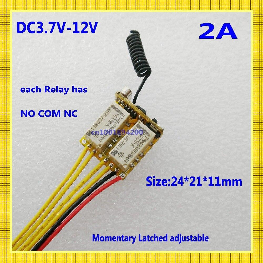 interruptor mini 2 canais interruptores remotos 42 02