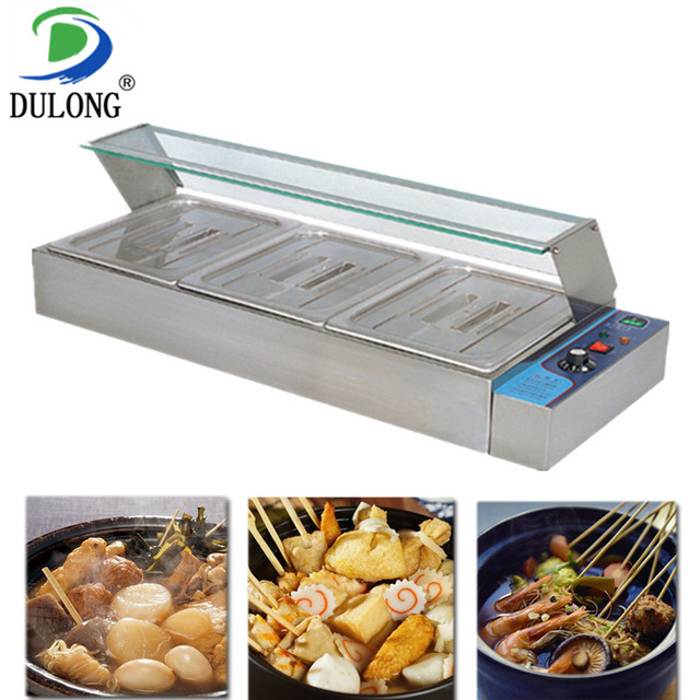 Stainless steel Bain Marie table top electric buffet food warmer basin electric food container keeping food in warming storage