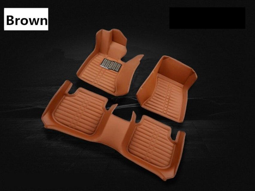 For Hyundai Creta ix25 2014-2017 Floor Mats Foot Carpets Step Mat High Quality Water Proof Clean Solid Color