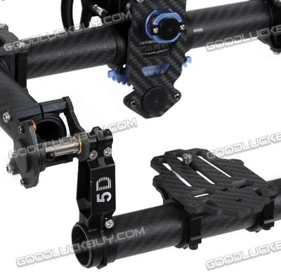 Tarot TL100AAA 3 axes support de caméra cardan avec servos, DSLR 5D 5D2 marque aérienne photo - 6