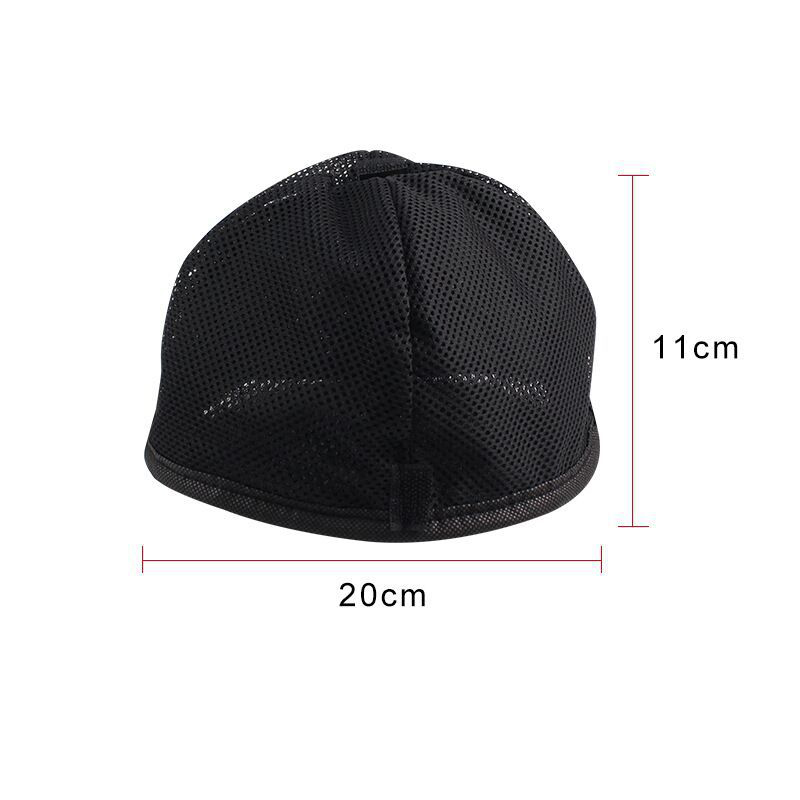 Black Motorcycle Face Mask Moto Thermal Fleece Hats Cold proof Autumn Winter Cycling Headwear Ski Helmet Caps Headband in Motorcycle Face Mask from Automobiles Motorcycles