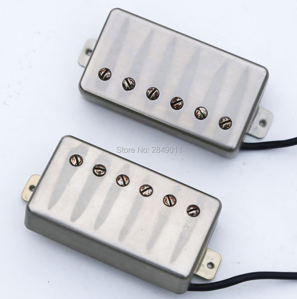 Relic Aged Vintage Pickups for LP Style Guitars Humbucker Pickup Alnico 5 Magnets
