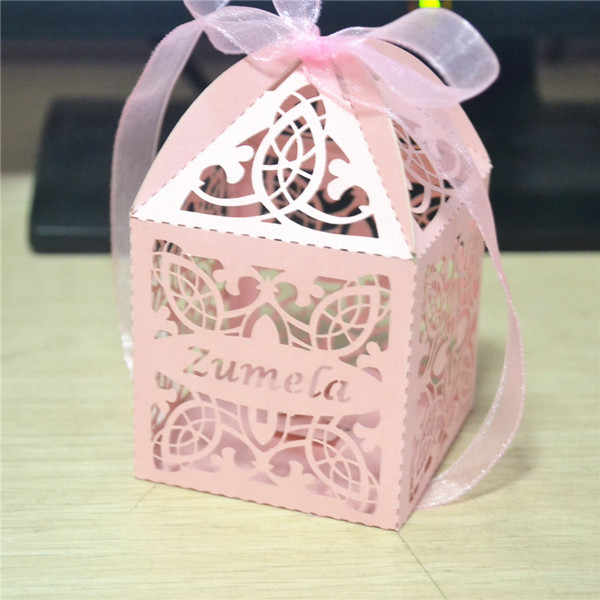Baby Birth Souvenirs Shower Decorations Birthday Return Gift Kids Laser Cut Favor Box In Bags Wrapping Supplies From Home Garden On
