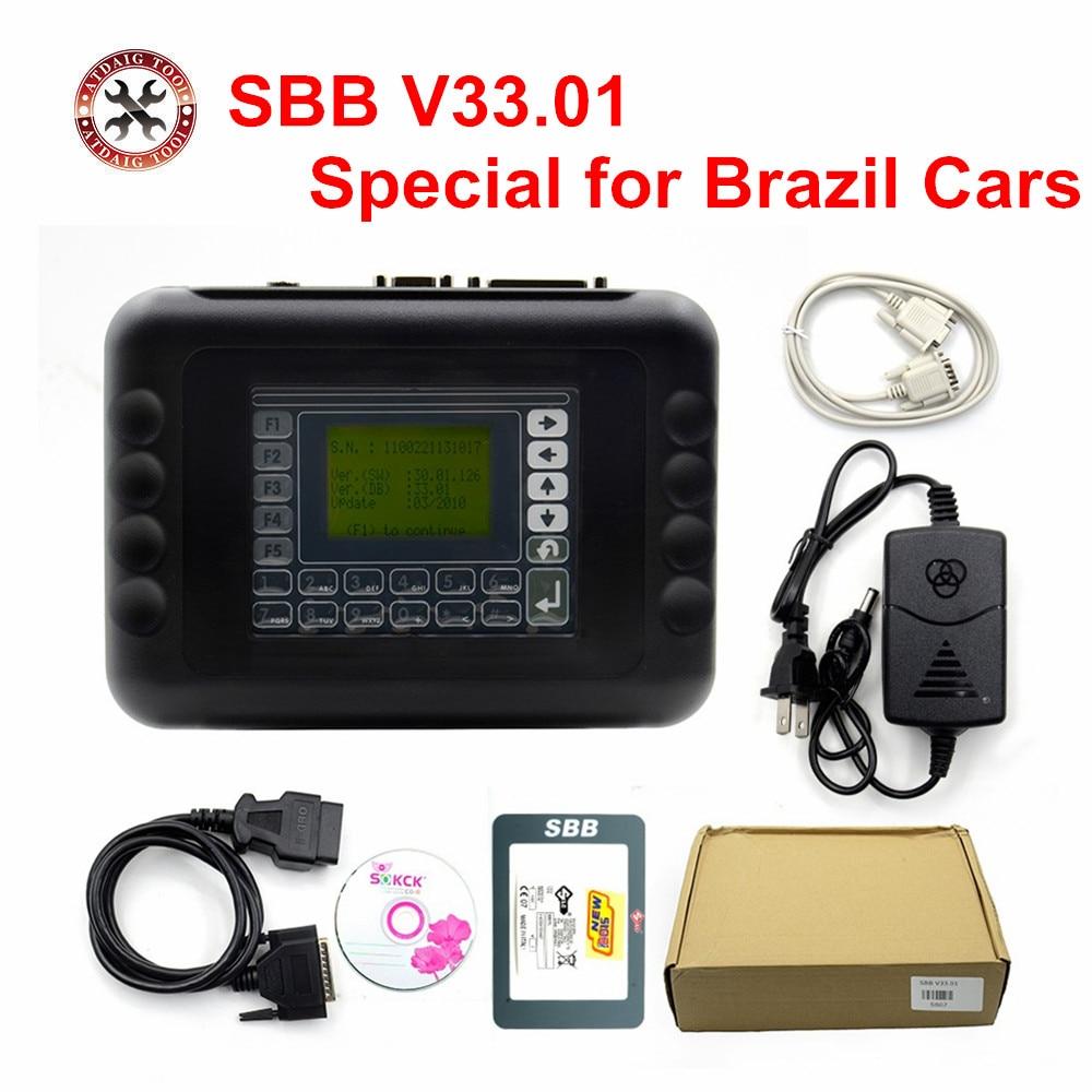 Цена за 2017 Стайлинга Автомобилей Auto Key Программист V33.01 бразилия Бразилия SBB Silca SBB Ключевые Программист Для Мульти-Бренды sbb V33.01 бразилия