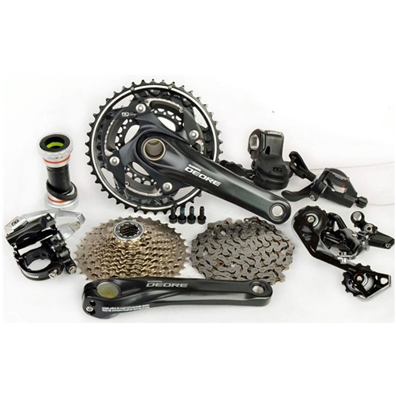 New SHIMANO Deore M6000 3x10 Speed MTB Groups Groupset 7 pcs 42T 175MM
