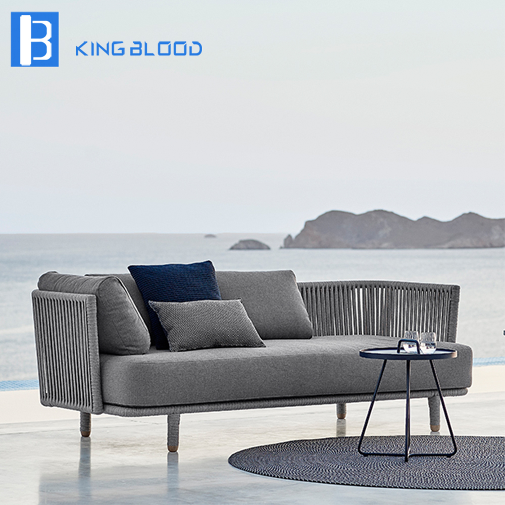 US $650.0 |modern outdoor furniture garden grey round rope sofa set-in  Garden Sofas from Furniture on Aliexpress.com | Alibaba Group