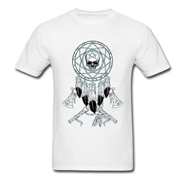 Mens T-Shirt Anatomical Heart Print Tees 100% Cotton T