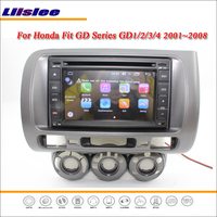 Liislee Car Android Multimedia For Honda Fit 2001~2008 Radio CD DVD Player GPS Navi Map Navigation BT Audio Video Stereo System