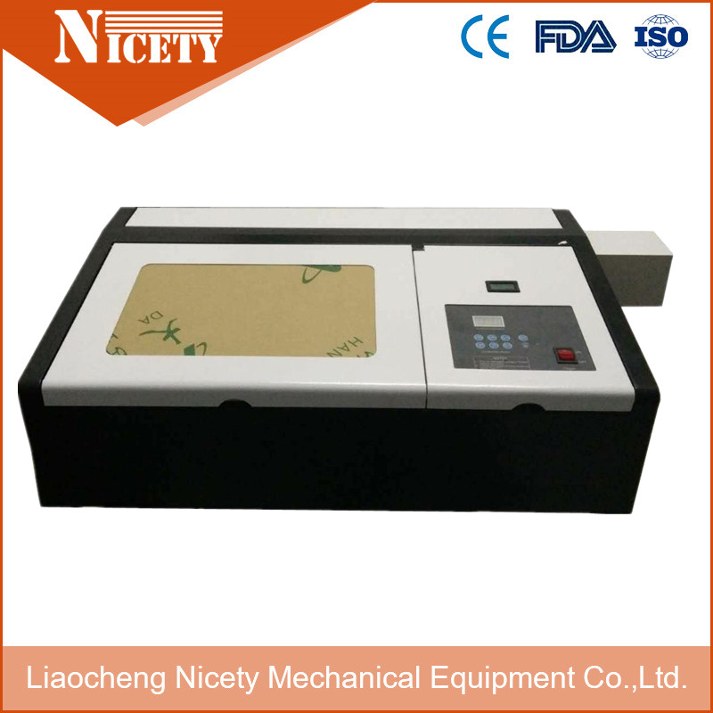 50w Mini Laser Engraving Machine K40 For Rubber Stamp Have