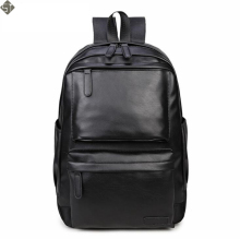 NEW Fashion Style Leather Men Black Backpack Fashion Famous Brand Male Casual Boys School Shoulder bags for Men's Backpack