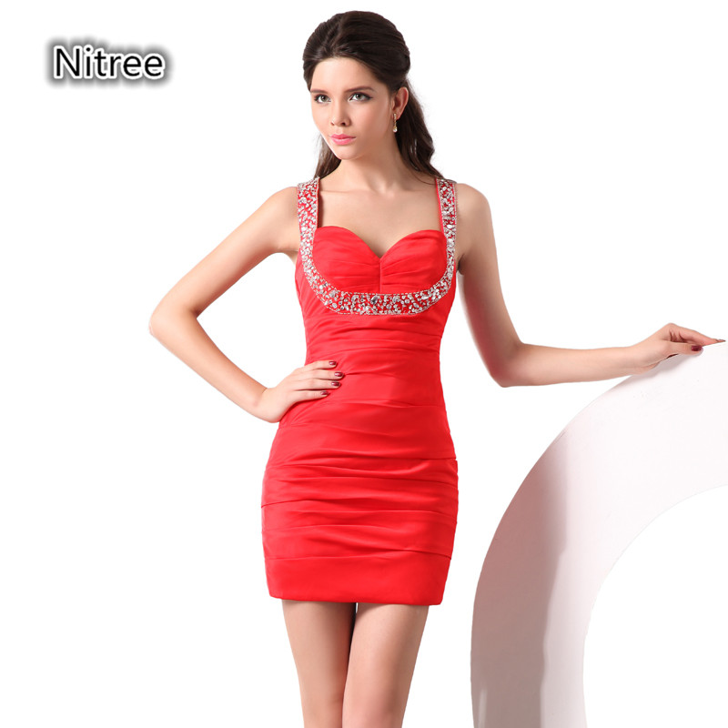 Popular Multi Colored Homecoming Dresses-Buy Cheap Multi Colored ...