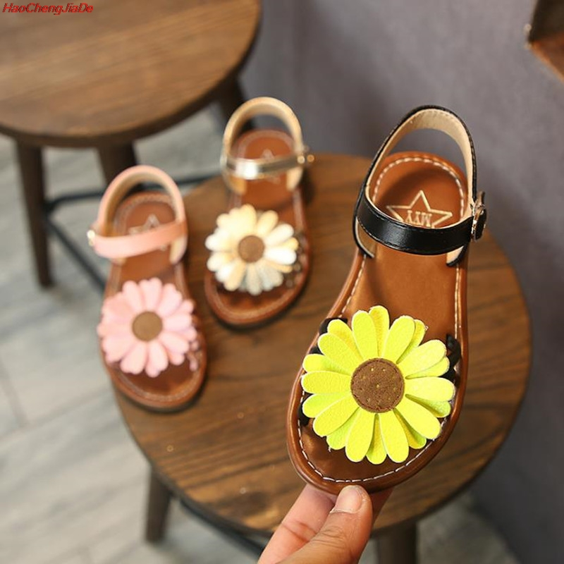 HaoChengJiaDe Girls Summer Sandals Baby Girl Toddler Kids Shoes With Flowers Sweet Princess Soft Childrens Beach Shoes FloralHaoChengJiaDe Girls Summer Sandals Baby Girl Toddler Kids Shoes With Flowers Sweet Princess Soft Childrens Beach Shoes Floral