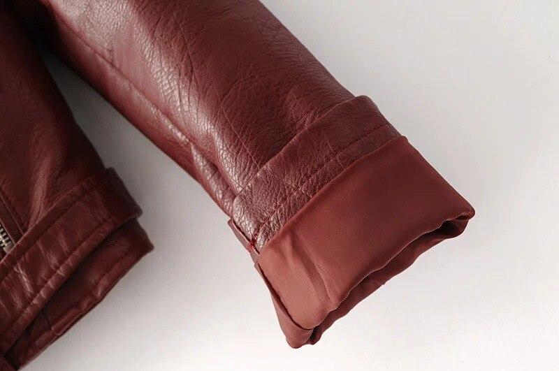 HTB1VvoTcpcJL1JjSZFOq6AWlXXaI Aelegantmis Autumn New Short Faux Soft Leather Jacket Women Fashion Zipper Motorcycle PU Leather Jacket Ladies Basic Street Coat