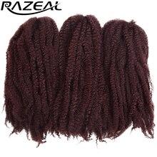 Hair-Crochet Kanekalon Braids Marley 5packs Synthetic Pure-Color Razeal 100grams