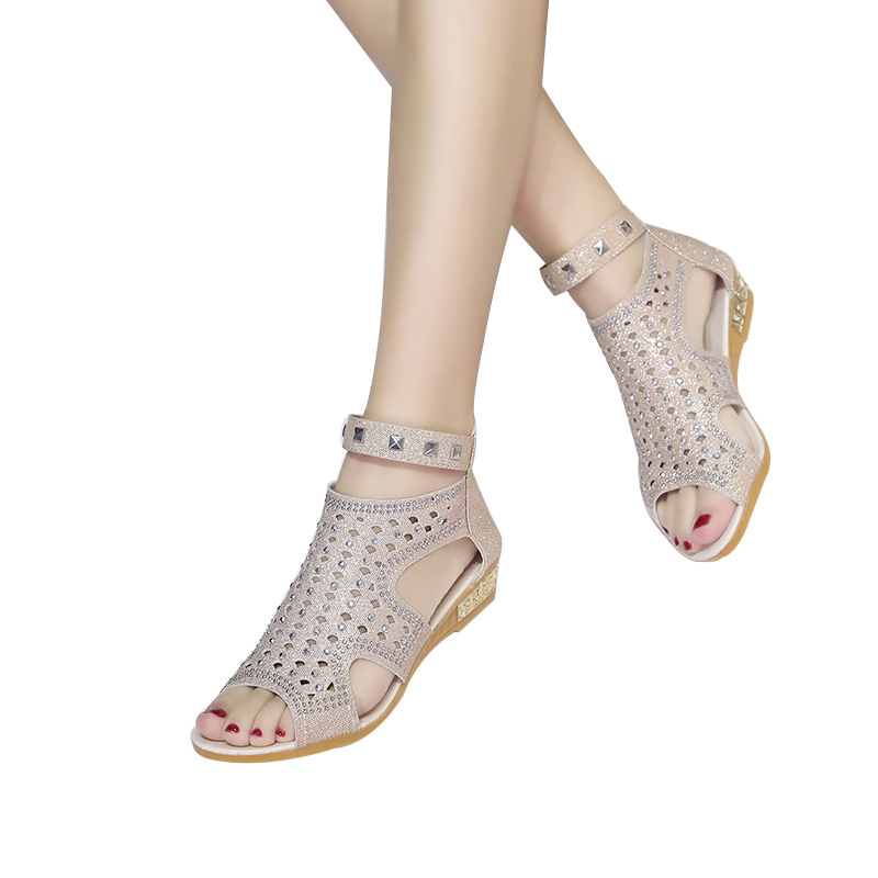 VTOTA Sandals Women Sandalia Feminina 2017 Casual Rome Summer Shoes Fashion Rivet Gladiator Sandals Women Sandalia Mujer B67 1