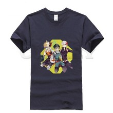 2019 new T-shirt Print My Hero Academia Cool Japan Anime Cartoon Fashion Summer dress men tee street cos play Cozy