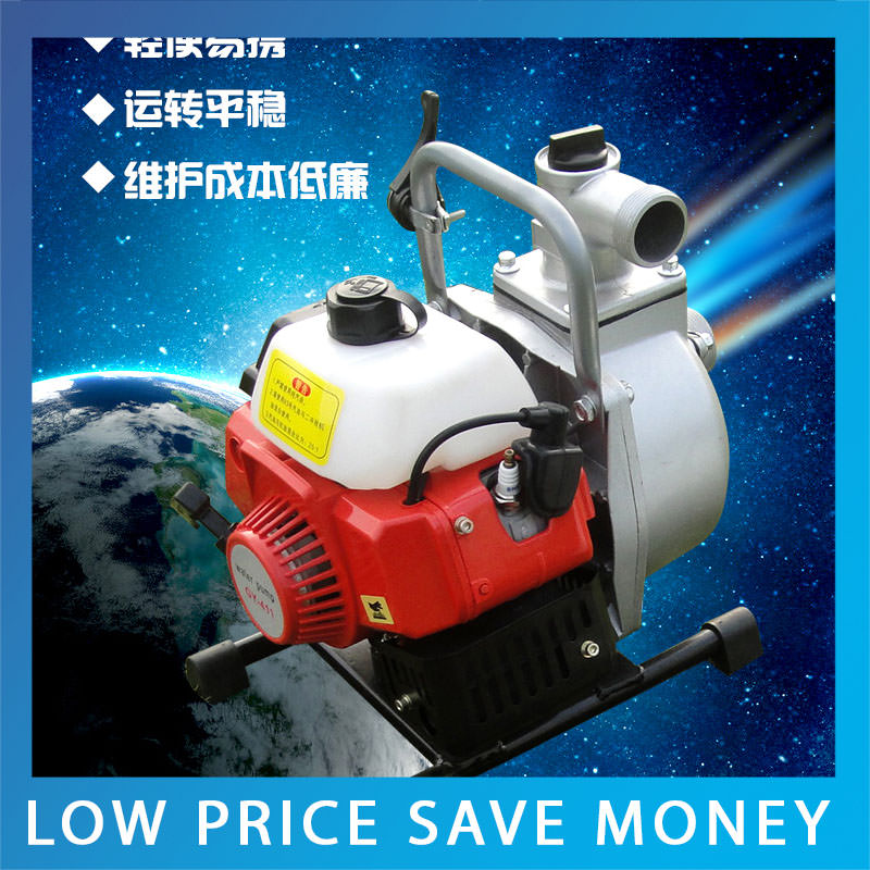 1.8KW / 7.5HP 1.5inch High-Pressure Gasoline Water Pump Protable Agricultural Irrigation Pump 3 inch gasoline water pump wp30 landscaped garden section 168f gx160 agricultural pumps