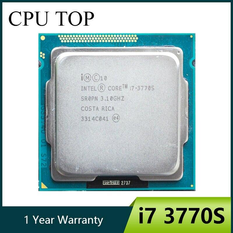 Intel Core i7 3770 procesador Quad Core de 3,1 GHz L3 = 8M 65W Socket LGA 1155 CPUdesktop cpui7 3770sintel core i7 -