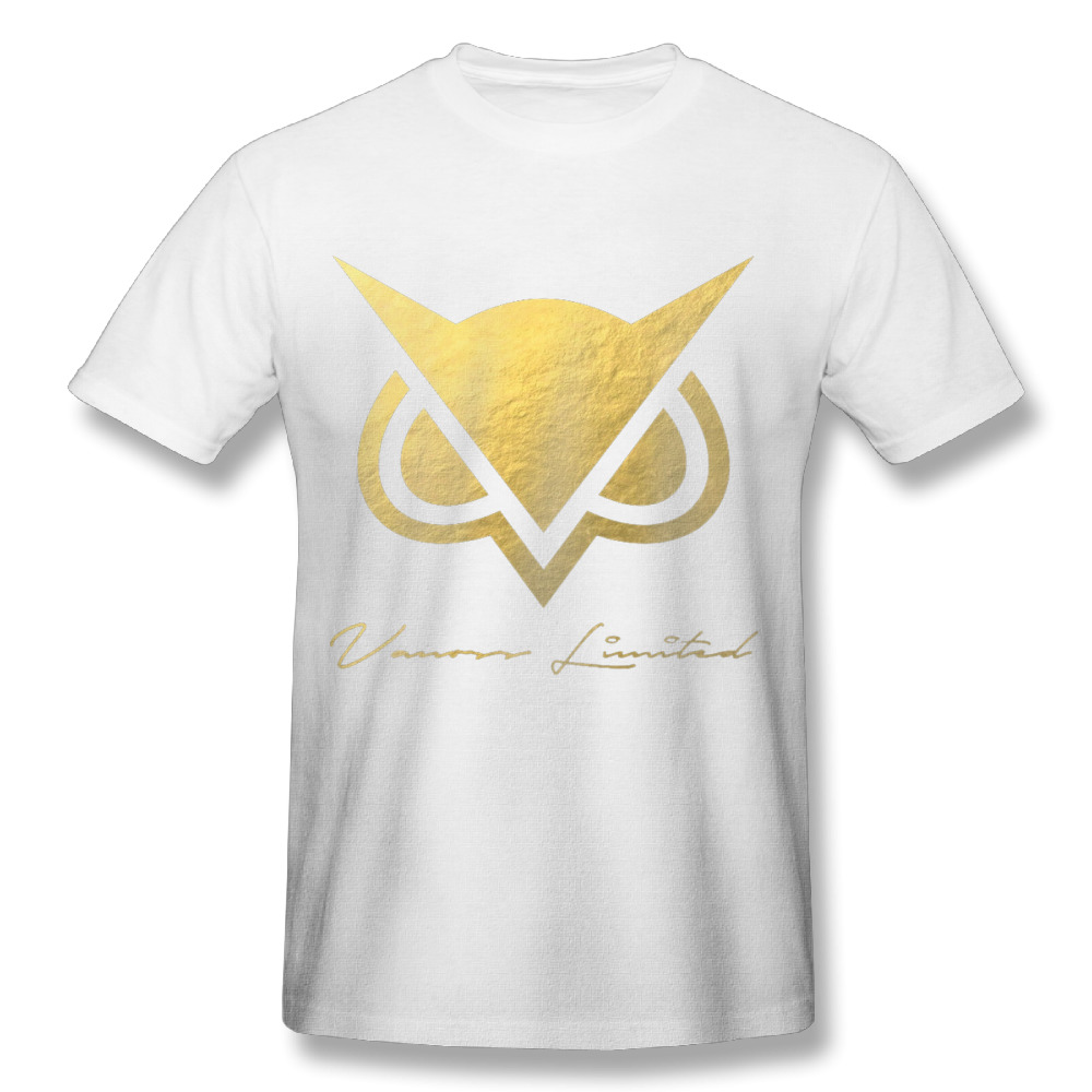 Design t shirt logo online - 2017 Men S Vanoss Gaming Gold Logo Art Design Fashion Funny Custom Print Slim Fit T Shirt