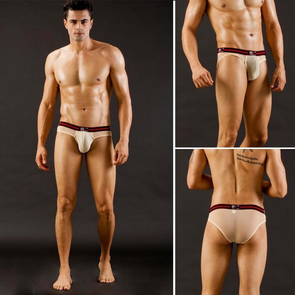 Aliexpress.com : Buy WJ New Mesh Sexy Men's Breathable Underwear ...