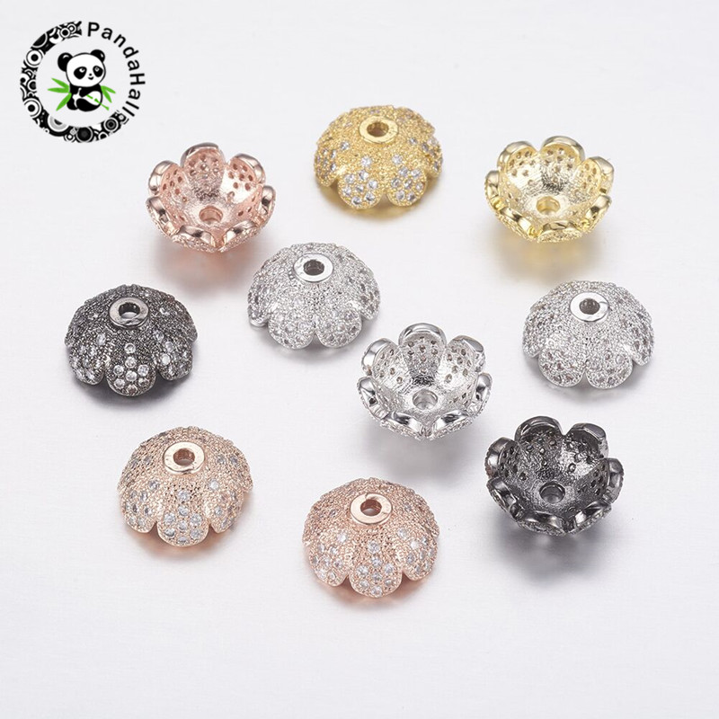 ARRICRAFT 50pcs Antique Silver Beads Caps Carved Cone Ends Caps 18mm for DIY Crafting Earring Bracelet Jewelry Making