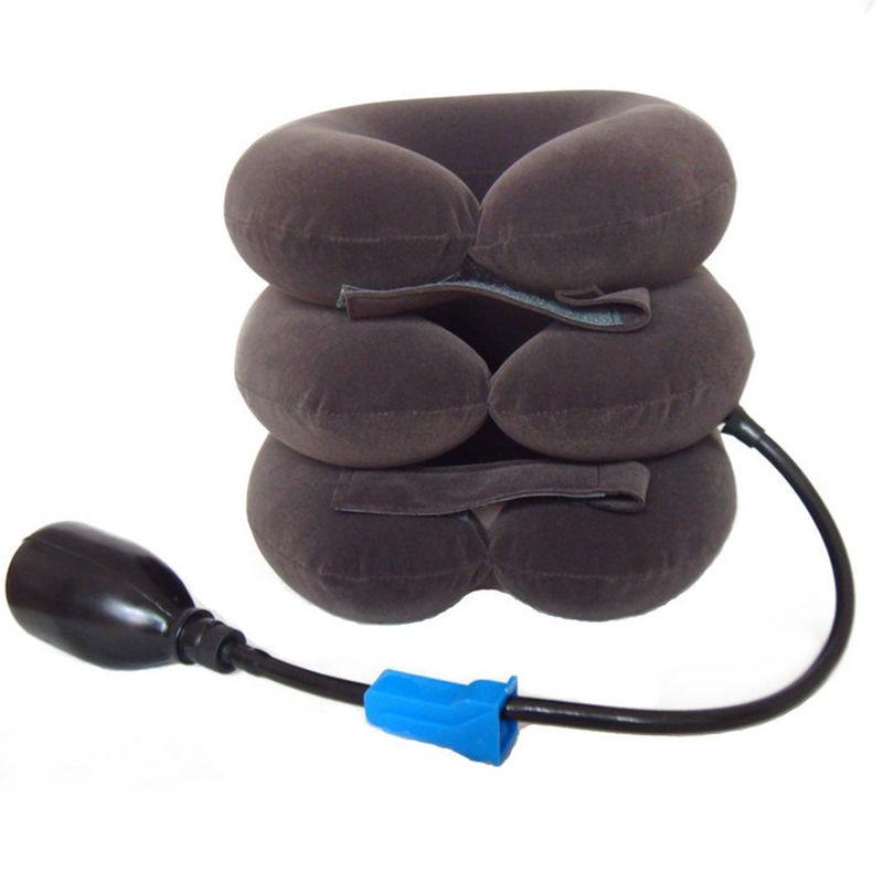 Collare cervicale Dispositivo di Trazione del Collo Gonfiabile Collare Cervicale Vertebra Trazione Famiglia Trazione Massaggiatore Cure mediche CCT-1