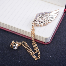 Man Jewelry Personalized Chain Tassel Alloy Collar Brooch Pin Lapel Shirt Neck Accessory Unisex For Gift